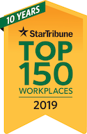 Top 150 Workplaces 2019 award