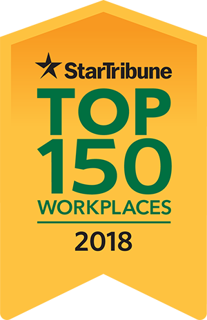 Top 150 Workplaces 2018 award